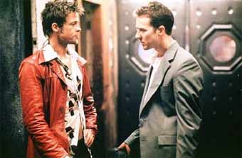 picture from fight club, the movie