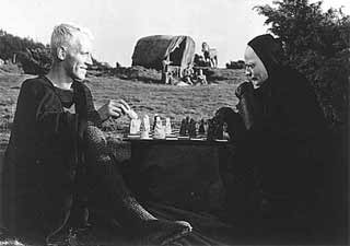 Scene from the movie the seventh seal