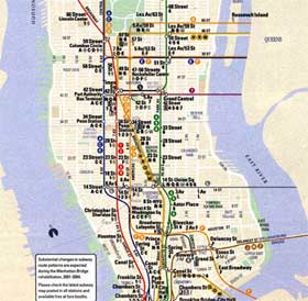 The design of the nyc subway system reflects good planning, and the intergration of business and design