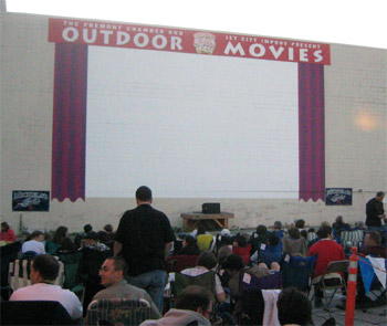 Outdoor movie theater