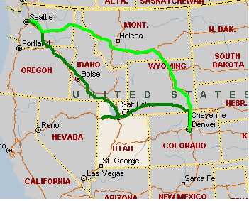 Stories from the road trip Seattle To Denver 2004 Scott Berkun