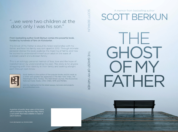 Book Cover Design Back : How to design a book cover the ghost of my father