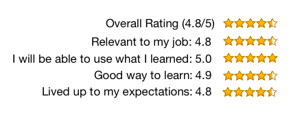 workshop rating 4